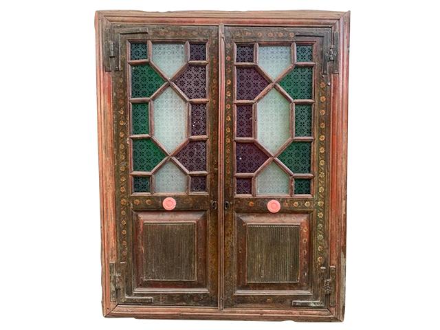 Half Glass Wooden Door