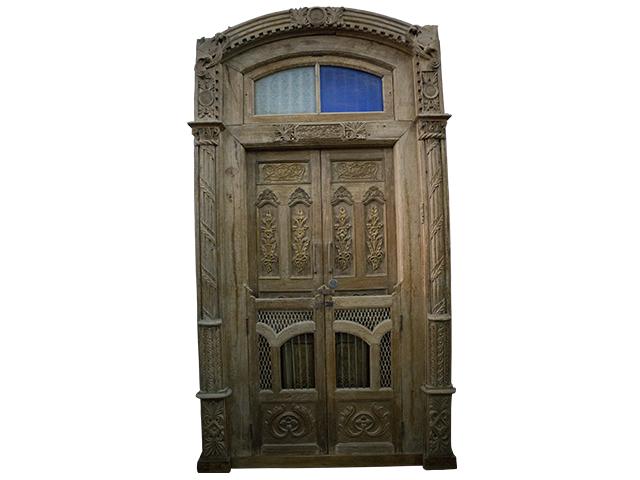 Heavy Wooden Old Door