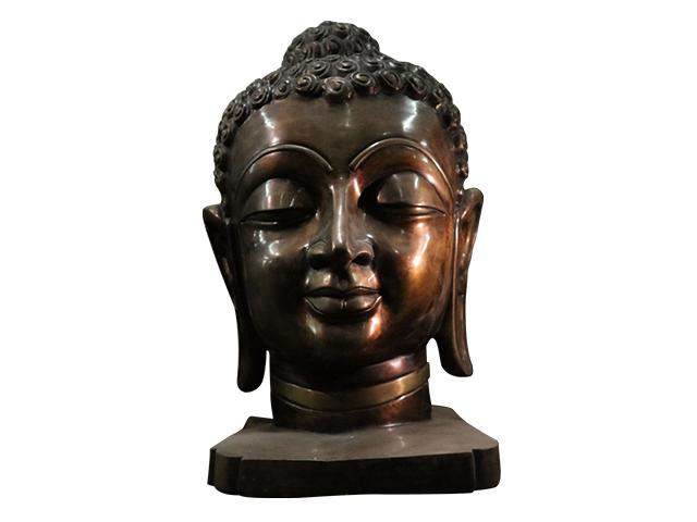 Antique Buddha Bust