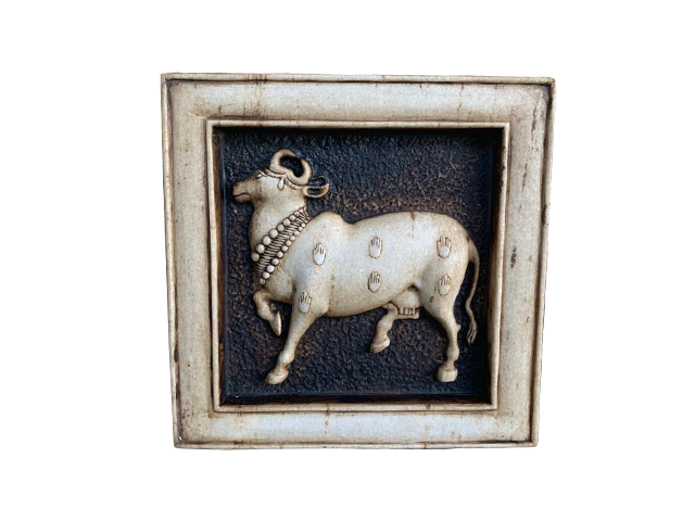 Marble Cow Frame