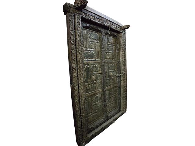 Exotic Wooden Door
