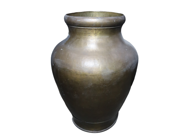 Bronze Flower Pot
